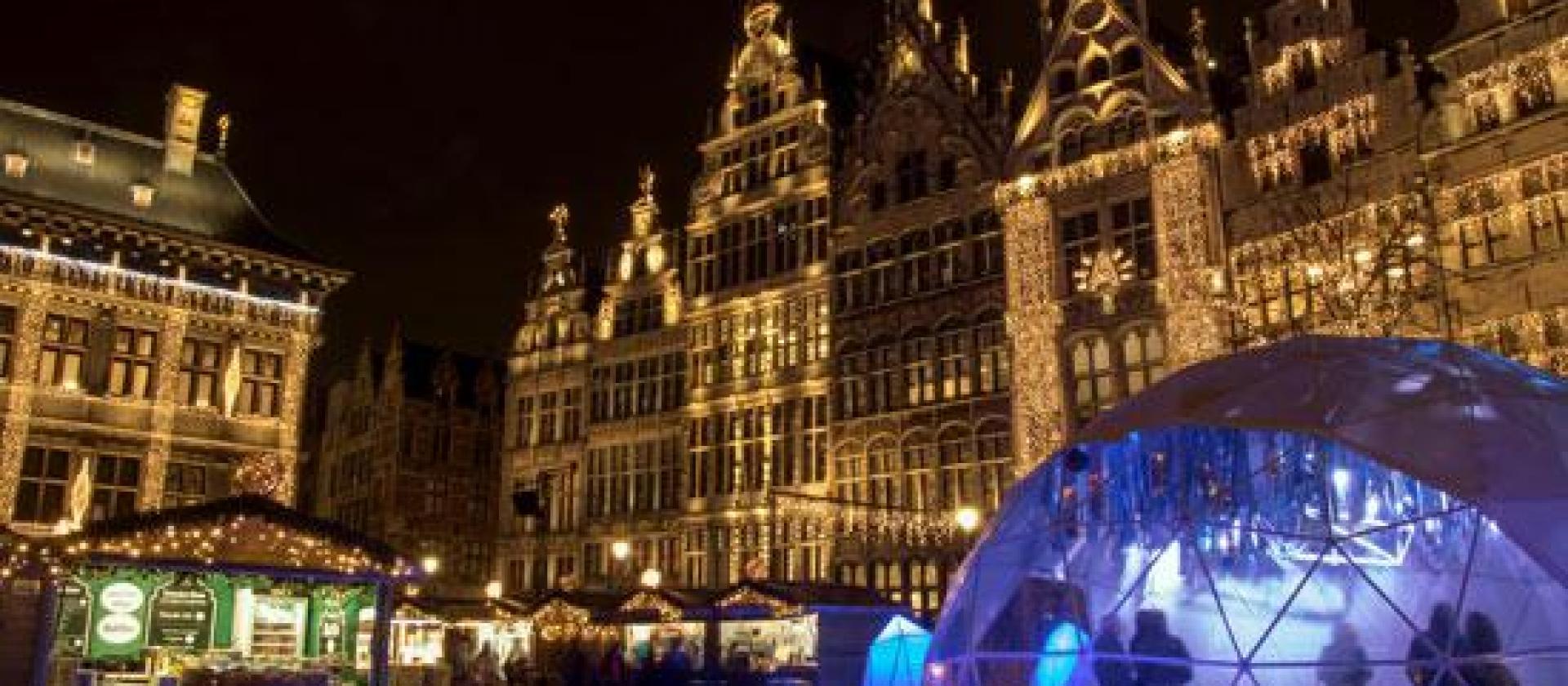 Winter In Antwerpen Koopzondag